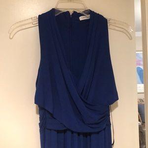 Calvin Klein Royal Blue Gown